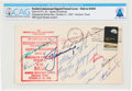 Explorers:Space Exploration, Soviet Union 1970 Visit: American Cosmonaut Visit 1969 Cover Signed by Fifteen Cosmonauts Directly From The Armstrong Fami...