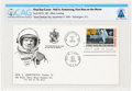 "Explorers:Space Exploration, [Purdue University] Apollo 11 ""First Man On The Moon"" Stamp First Day Cover with ""Neil Armstrong, Purdue '55 Phi Delta Theta"" ..."