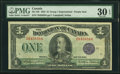 Canadian Currency, DC-25l $1 1923 PMG Very Fine 30 EPQ.. ...