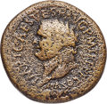 Ancients:Roman Imperial, Ancients: Titus (AD 79-81). AE sestertius (35mm, 26.71 gm, 6h). VG,corrosion....