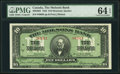 Canadian Currency, Montreal, PQ- Molsons Bank $10 July 3, 1922 Ch. # 490-40-04 PMGChoice Uncirculated 64 EPQ.. ...