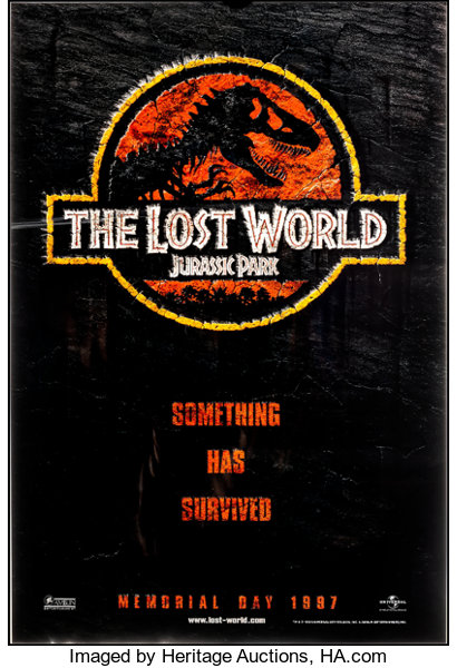 The Lost World Jurassic Park Universal 1997 Very Fine Lot 51258 Heritage Auctions