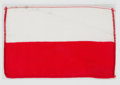 Explorers:Space Exploration, Gemini 10 Flown Flag of Poland Directly from the John W. Young Collection, with Letter of Certification....