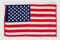 Explorers:Space Exploration, Apollo 10 Flown American Flag Directly from the John W. Young Collection, with Letter of Certification....