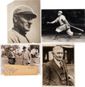 Baseball Collectibles:Photos, 1920's-50's Honus Wagner Original News Photographs Conlon &Thompson Lot of 16.... (Total: 16 items)