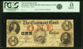 Obsoletes By State:New Hampshire, Claremont, NH - Claremont Bank $1 April 1, 1863 NH-21 G4b. PCGS Apparent Fine 15.. ...