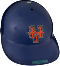 Baseball Collectibles:Others, 1980's Keith Hernandez Game Worn New York Mets Batting Helmet....