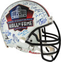 Football Collectibles:Helmets, Pro Football Hall of Famers Signed Authentic Full Sized Helmet. ...