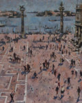 Paintings, Loren Mozley (American, 1905-1989). Venetian Souvenir. Oil on canvas. 20 x 16 inches (50.8 x 40.6 cm). Signed and titled...