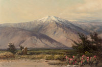Robert William Wood (American, 1889-1979) Mount San Jacinto Oil on canvas 24 x 36 inches (61.0 x