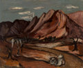 Fine Art - Painting, American, Margaret Owen Mellott (American, b. 1923). Road toTerlingua, 1948-49. Oil on Masonite. 16 x 20 inches (40.6 x50.8 cm)...