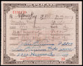 Miscellaneous Collectibles:General, 1929 Prohibition Pharmacy Prescription for Whiskey. ...