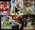 Autographs:Photos, Pro Football Hall of Famers Signed Photograph Lot of 10....