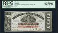 Obsoletes By State:North Carolina, Raleigh, NC- State of North Carolina $50 Jan. 1, 1863 Cr. 118 PCGS New 62PPQ.. ...
