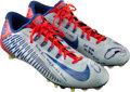 Football Collectibles:Others, 2014 Odell Beckham Jr. Game Worn & Signed New York Giants Cleats, Worn 11/30 Vs. Jacksonville. ...