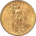 Saint-Gaudens Double Eagles, 1913-S $20 MS62+ PCGS....