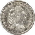 Early Half Dimes, 1795 H10C V-5, LM-8, R.3 -- Cleaned -- PCGS Genuine. XF Details....