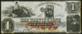 Obsoletes By State:Rhode Island, Warwick, RI - Warwick Bank $1 Oct. 1, 1857 Choice About Uncirculated.. ...