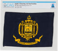 Explorers:Space Exploration, Apollo 11 Flown U.S. Naval Academy Flag of the Brigade ofMidshipmen Directly From The Armstrong Family Collection™, CAG C...