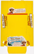 Memorabilia:Movie-Related, Roy Rogers Roundup King Tops Yo-Yo Store Box (All Western Plastics, c. 1950s). ...