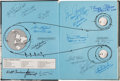 Explorers:Space Exploration, Apollo Expeditions to the Moon Book Signed by Fifteen Apollo Astronauts, Including Six Moonwalkers, All with Added Mis...