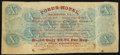 Confederate Notes:1863 Issues, Hotel Advertising Note T59 $10 1863 Very Fine.. ...