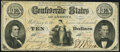 Confederate Notes:1861 Issues, T26 $10 1861 Fine-Very Fine.. ...