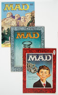 Golden Age (1938-1955):Humor, MAD Group of 9 (EC, 1953-57) Condition: Average VG.... (Total: 9 Comic Books)