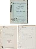 """Explorers:Space Exploration, Apollo 12: NASA """"Final Flight Plan AS-507/ CSM-108/ LM-6"""" Book with Revisions A and B. ... (Total: 3 )"""