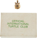 Explorers:Space Exploration, International Turtle Club Pin with Original Box. Are You A Turtle? YBYSAIA! ...