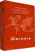 "Explorers:Space Exploration, Project Mercury: NASA ""Introduction to Project Mercury and Site Handbook"" MG-101, Dated September 1960, in Original Binding...."