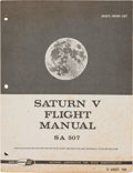 "Explorers:Space Exploration, Apollo 12: NASA Original ""Saturn V Flight Manual SA 507"" Book. ..."