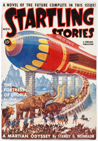 Startling Stories - November 1939 Yakima Pedigree (Standard) Condition: VF