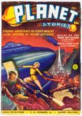 Pulps:Science Fiction, Planet Stories V1#3 Yakima Pedigree (Fiction House, 1940) Condition: VF....