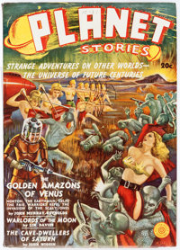Planet Stories V1#1 Yakima Pedigree (Fiction House, 1939) Condition: VF