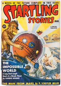 Startling Stories - March 1939 (Standard) Condition: VF