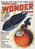 Pulps:Science Fiction, Thrilling Wonder Stories February 1938 Yakima Pedigree (Standard) Condition: VF....