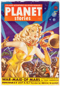 Pulps:Science Fiction, Planet Stories V5#6 Yakima Pedigree (Fiction House, 1952) Condition: VF....