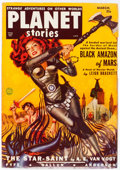 Pulps:Science Fiction, Planet Stories V4#11 Yakima Pedigree (Fiction House, 1951) Condition: VF....