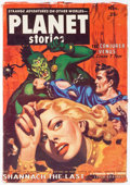 Pulps:Science Fiction, Planet Stories V5#9 Yakima Pedigree (Fiction House, 1952) Condition: VF-....