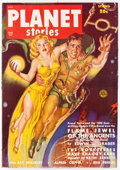 Pulps:Science Fiction, Planet Stories V4#6 Yakima Pedigree (Fiction House, 1950) Condition: VF-....