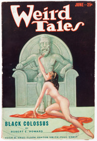 Weird Tales - June 1933 (Popular Fiction) Condition: VF-