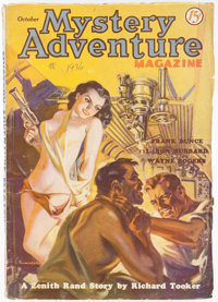 Mystery Adventures Magazine - October 1936 (Fiction Magazines) Condition: VG