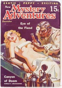 New Mystery Adventures - December 1935 (Pierre Publications) Condition: FN