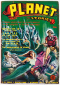 Pulps:Science Fiction, Planet Stories V1#6 Yakima Pedigree (Fiction House, 1941) Condition: VF....