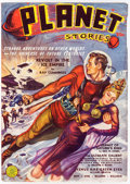Pulps:Science Fiction, Planet Stories V1#4 Yakima Pedigree (Fiction House, 1940) Condition: VF....