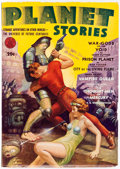 Pulps:Science Fiction, Planet Stories V1#12 Yakima Pedigree (Fiction House, 1942) Condition: VF....