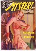 Pulps:Horror, Spicy Mystery Stories - September 1935 (Culture) Condition: VF-....