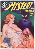 Pulps:Horror, Spicy Mystery Stories - November 1935 (Culture) Condition:...