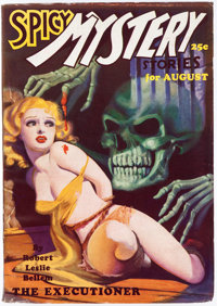 Spicy Mystery Stories - August 1935 (Culture) Condition: FN-